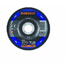Disco Rhodius abrasivo de repasar 125x7x22