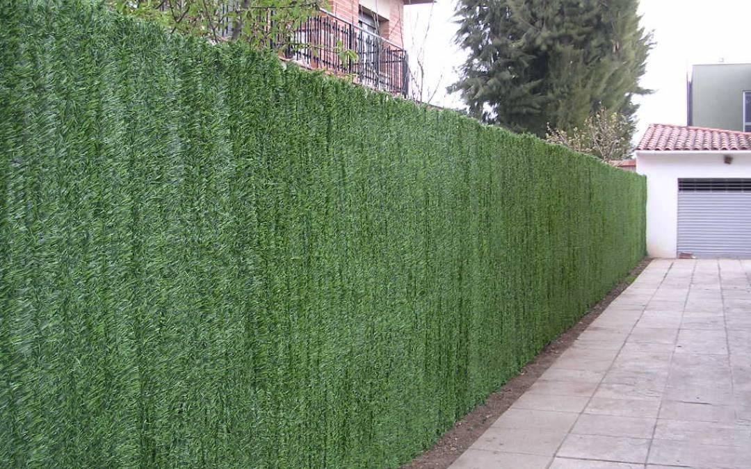 Sistemas de ocultación de jardín